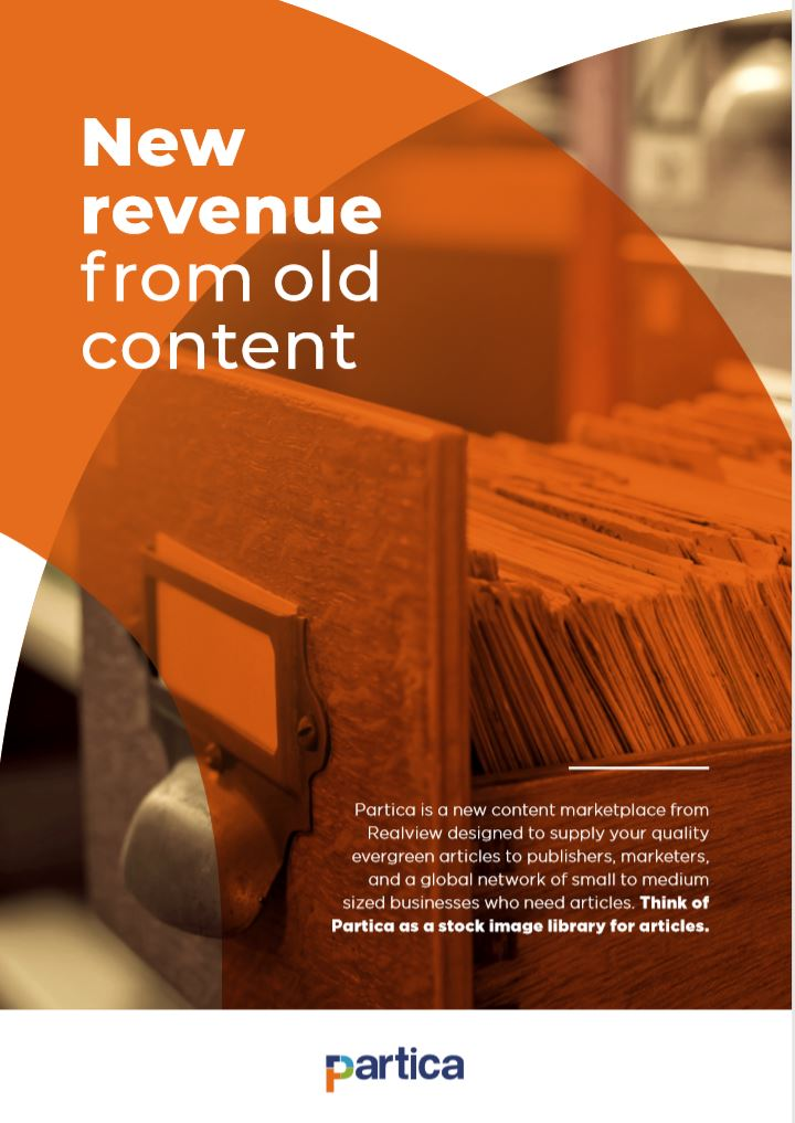 Generate new revenue from old content
