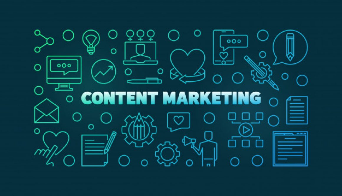 content-marketing-concept-colored-outline-icons_104589-825